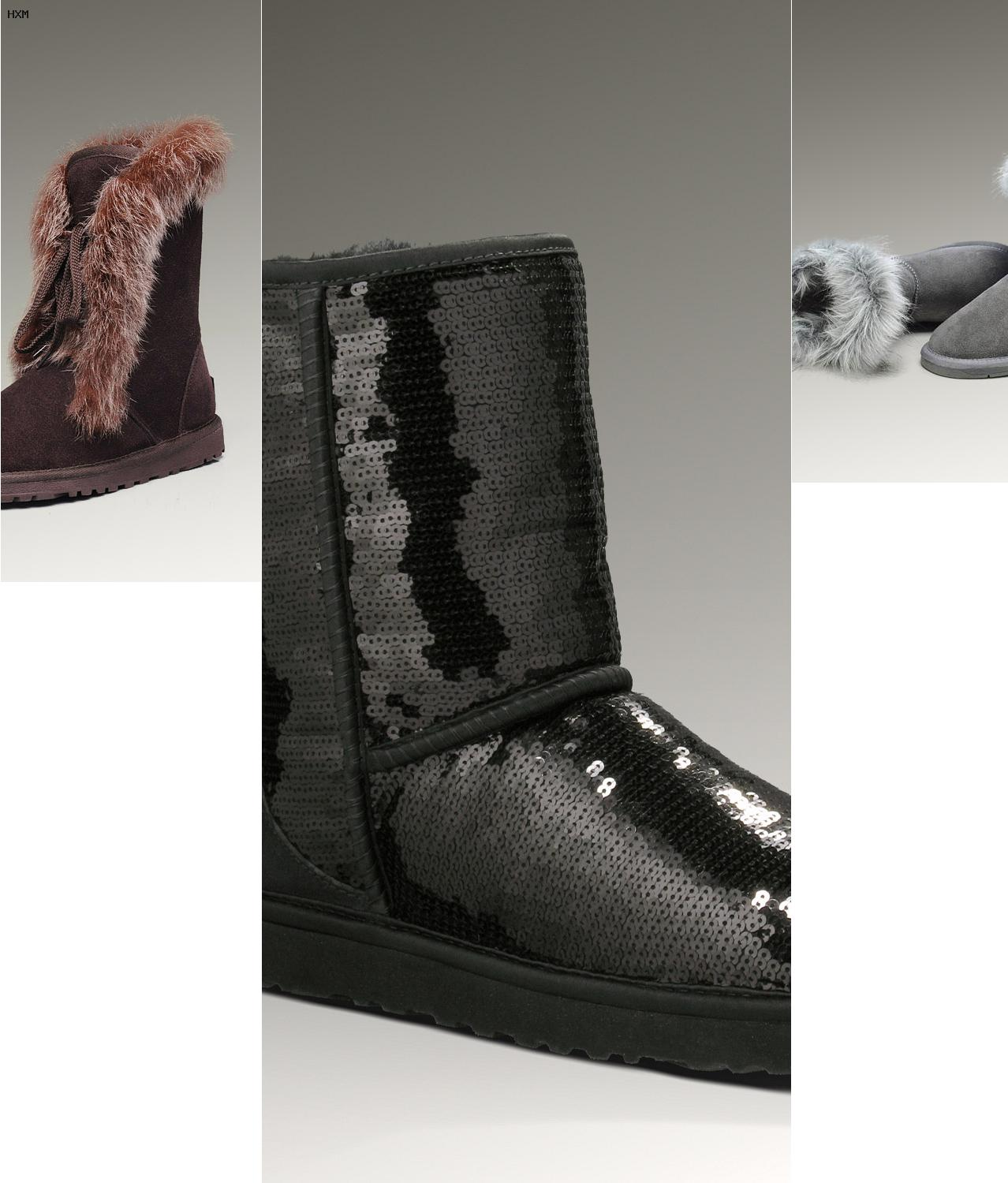 chausson ugg pas cher