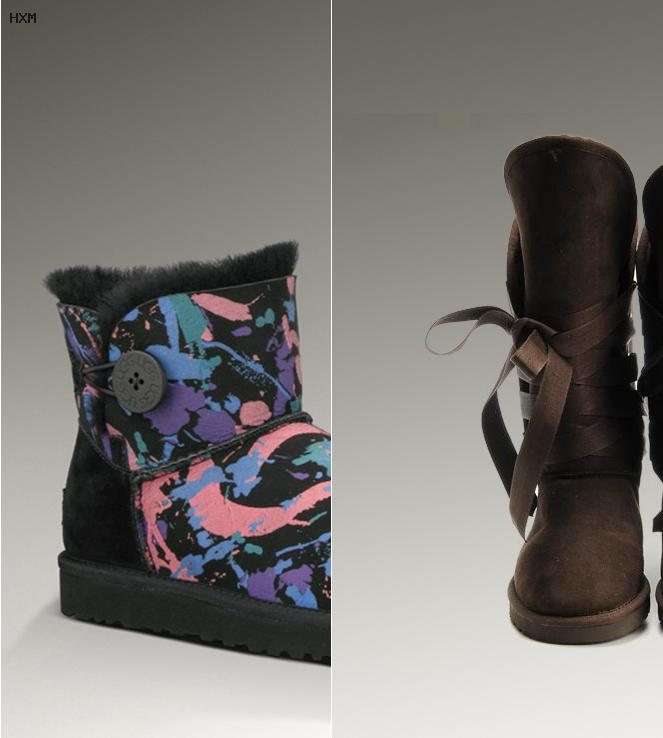 chaussures compensées ugg