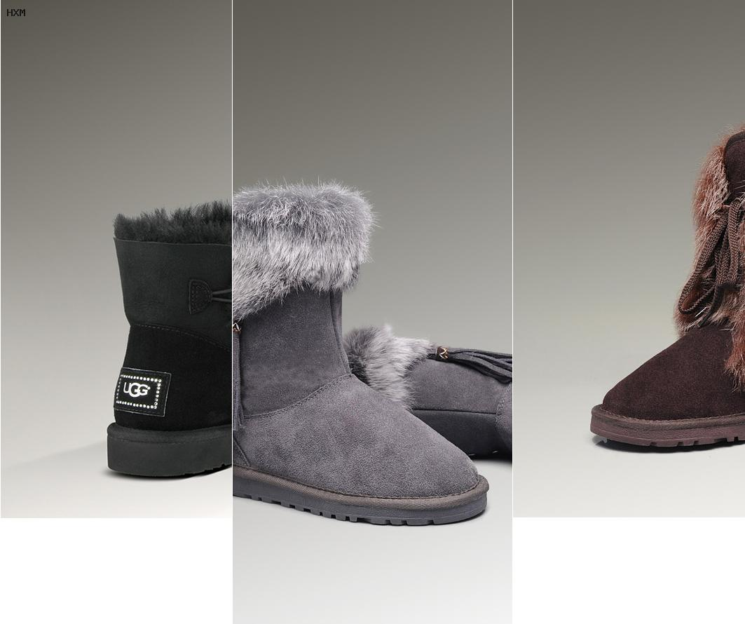 738a0ab14b8 ugg bailey bow grise pas cher